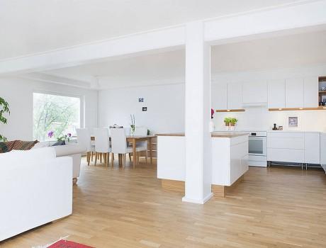 Kv Näckrosen, Ombyggnad av tryckeri till bostad/Conversion of Printing Office to apartment, Huddinge, Sweden