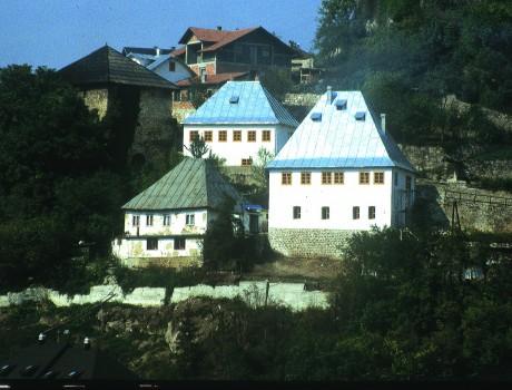 Jajce Houses, Bosnia Herzegovina