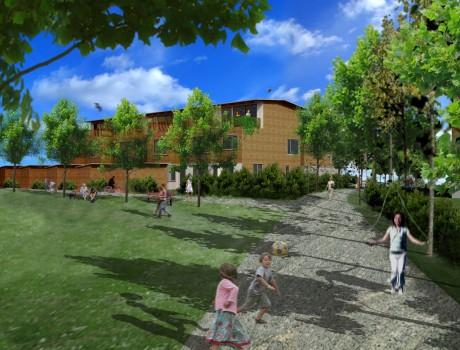 Ängarna, planarbete med gestaltningsprogram / Plan for New Residential area, Huddinge Sweden