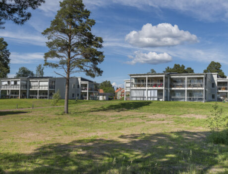 Måsen – bostadsområde i Orsa / Måsen – housing in Orsa, Sweden