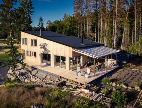 Villa, singe family house, Tvärnö, Sweden.
