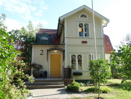 Villa Ansell, single family house, Uppsala, Sweden.
